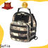 Sofie jacquard fabric military chest bag supplier for packaging
