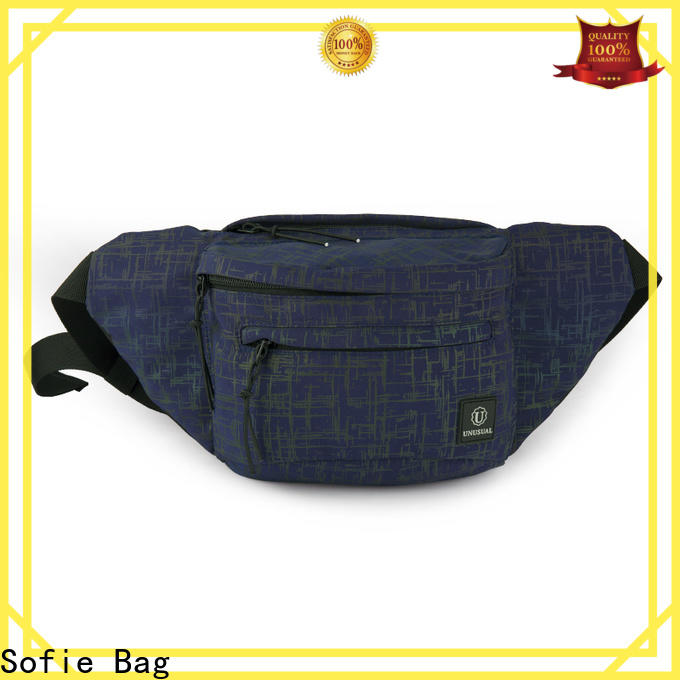 reflective sport waist bags for jogging