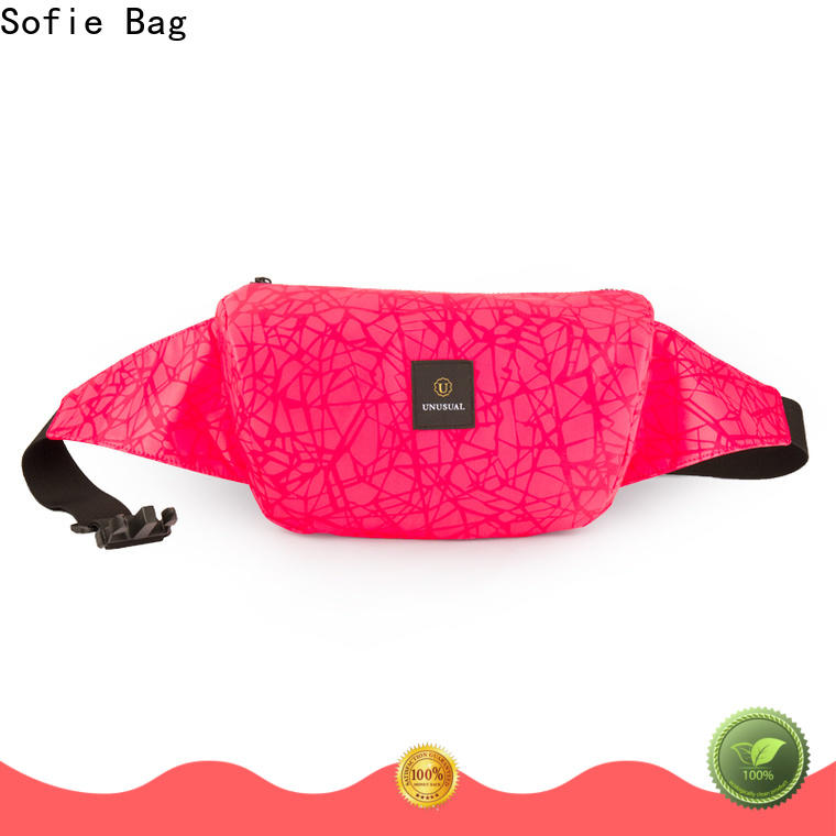 trendy sport waist bags for jogging