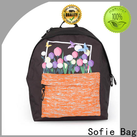 Sofie school backpack customized for students
