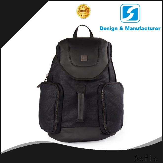 large capacity canvas backpack supplier for college