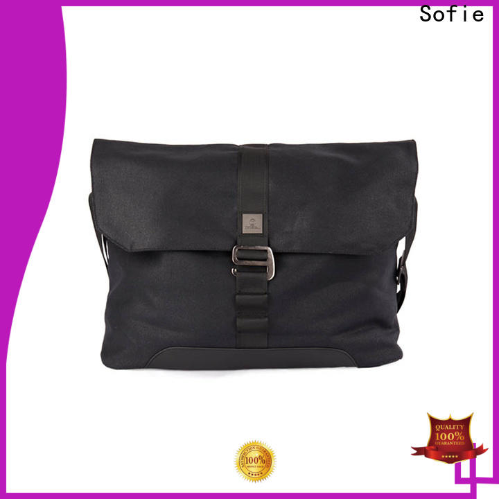 Sofie melange laptop business bag manufacturer for men