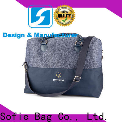 Sofie polyester travel bags for men series for business