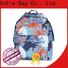 convenient school bags for girls customized for packaging