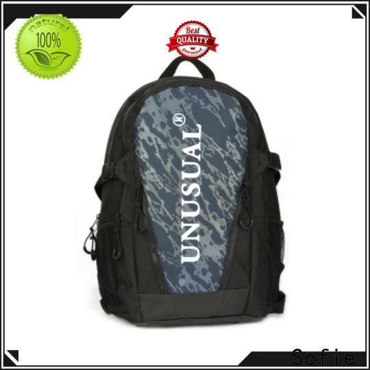 Sofie sport backpack customized for travel