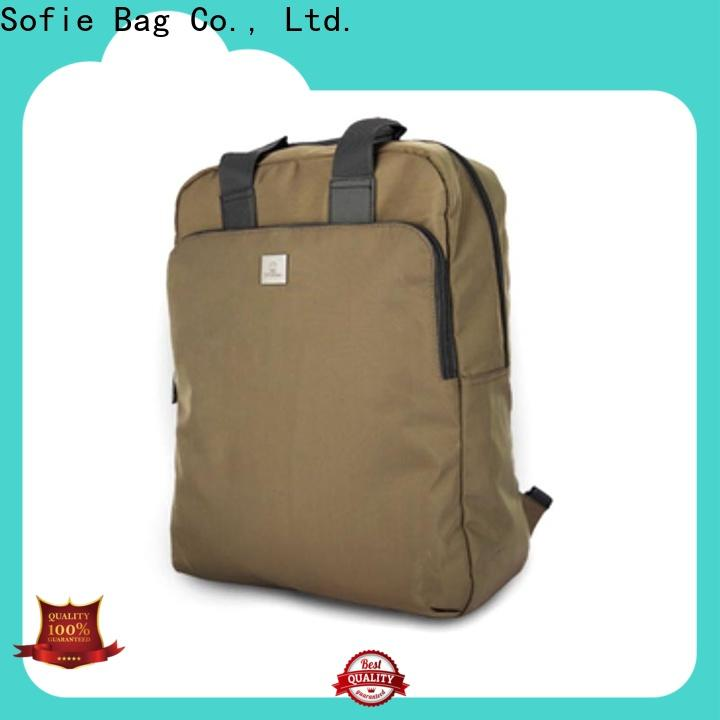 Sofie knitted fabric sport backpack customized for business