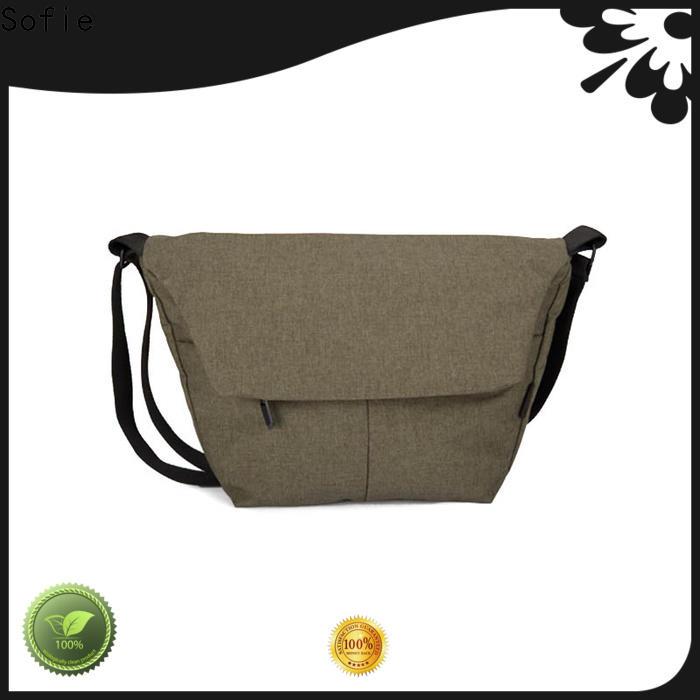 Sofie strong shoulder strap laptop shoulder bag factory price for packaging