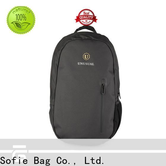 Sofie melange shoulder laptop bag manufacturer for men