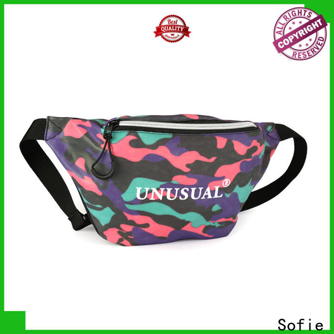 Sofie trendy sport waist bags manufacturer for decoration
