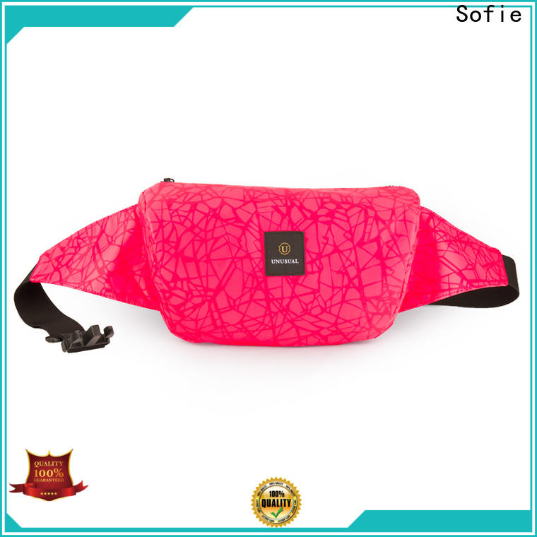 reflective waist bag personalized for jogging