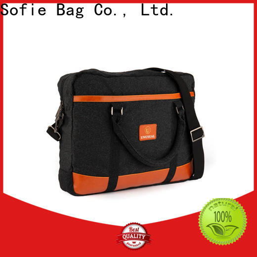 Sofie multi-functional briefcase laptop bag manufacturer for men