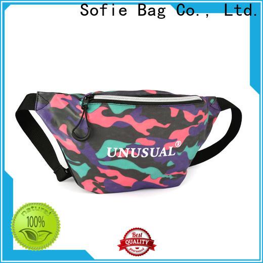convenient waist pouch factory price for jogging
