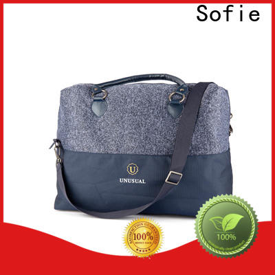 knitted fabric travel bags for women factory direct supply for luggage