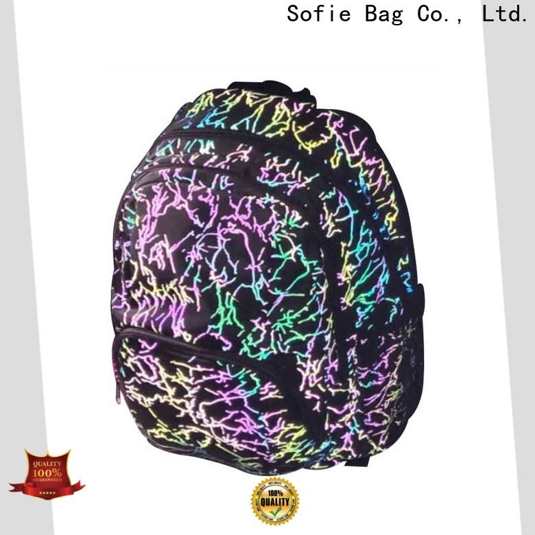 Sofie with TPU reflective hat school bag wholesale for students
