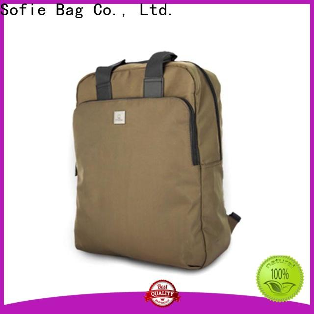 melange backpack customized for business