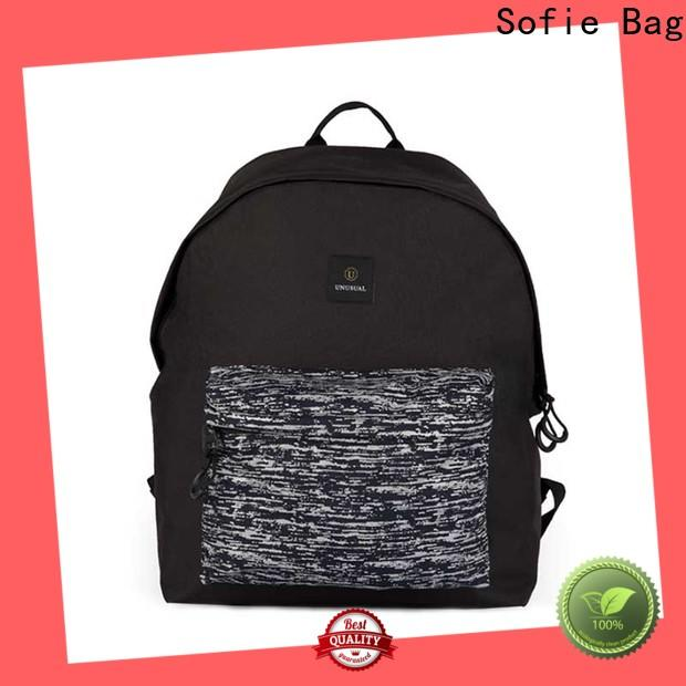 Sofie wrinkle printing sport backpack supplier for college