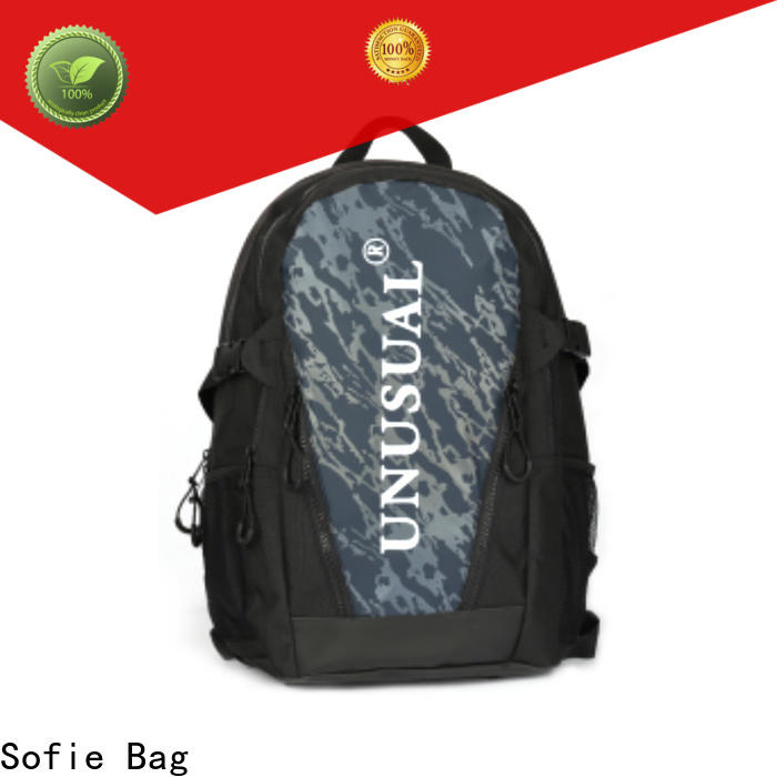 two zipper side sport backpack personalized for travel