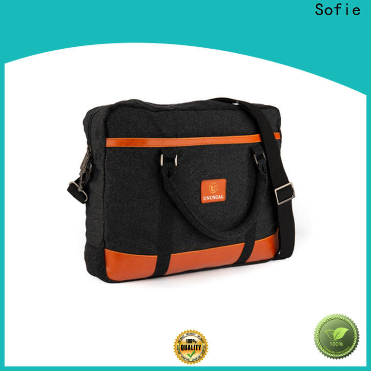 Sofie back pocket briefcase laptop bag factory direct supply for office