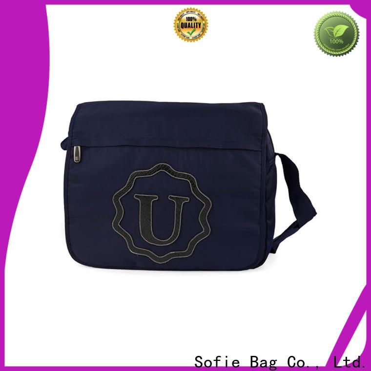 Sofie knit fabric business messenger bag manufacturer for women