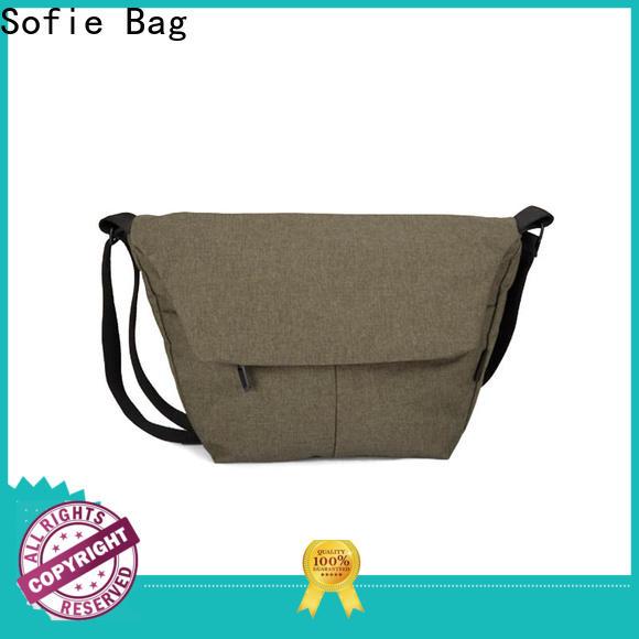 Sofie melange cross body shoulder bag factory direct supply for children