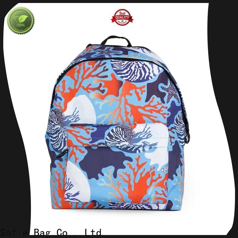 polyester school backpack supplier for kids