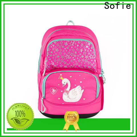 hard EVA bottom school backpack manufacturer for kids