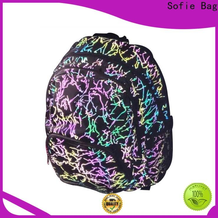 ergonomic shoulder strap school bags for girls series for students