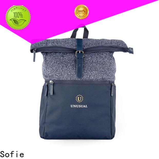 Sofie back pocket stylish backpack customized for travel
