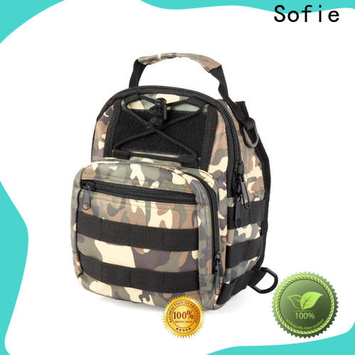 Sofie camouflage military chest bag manufacturer for going out