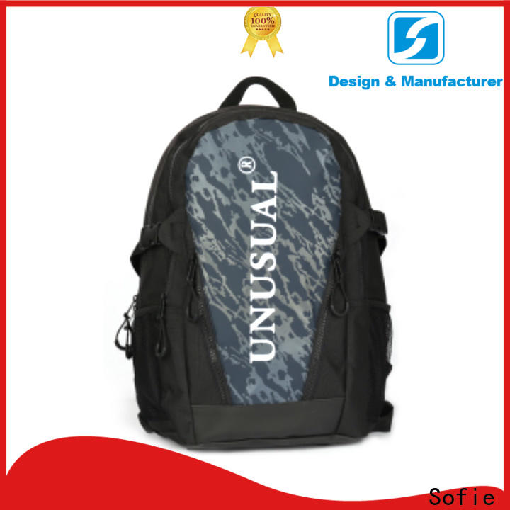 two zipper side cool backpacks manufacturer for travel