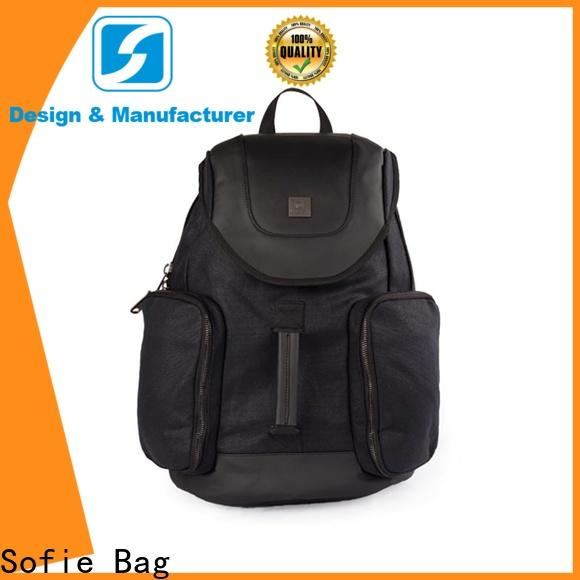 Sofie modern laptop backpack customized for business
