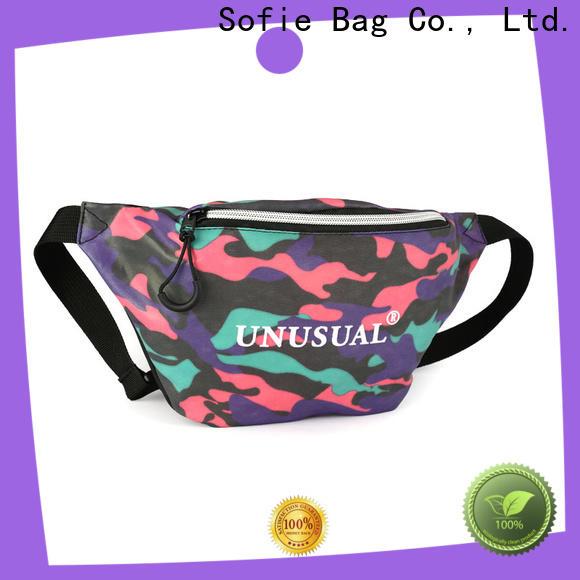 Sofie convenient sport waist bags for decoration