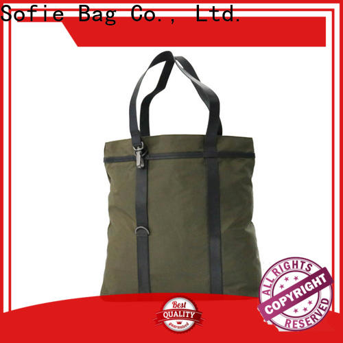 convenient foldable shopping bag customized for women
