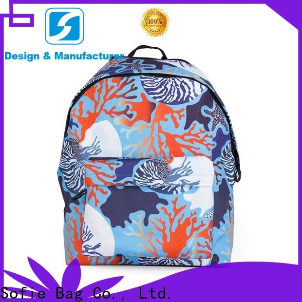 Sofie school bags for kids customized for packaging