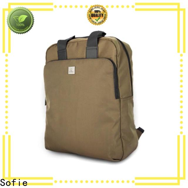 Sofie laptop backpack personalized for travel
