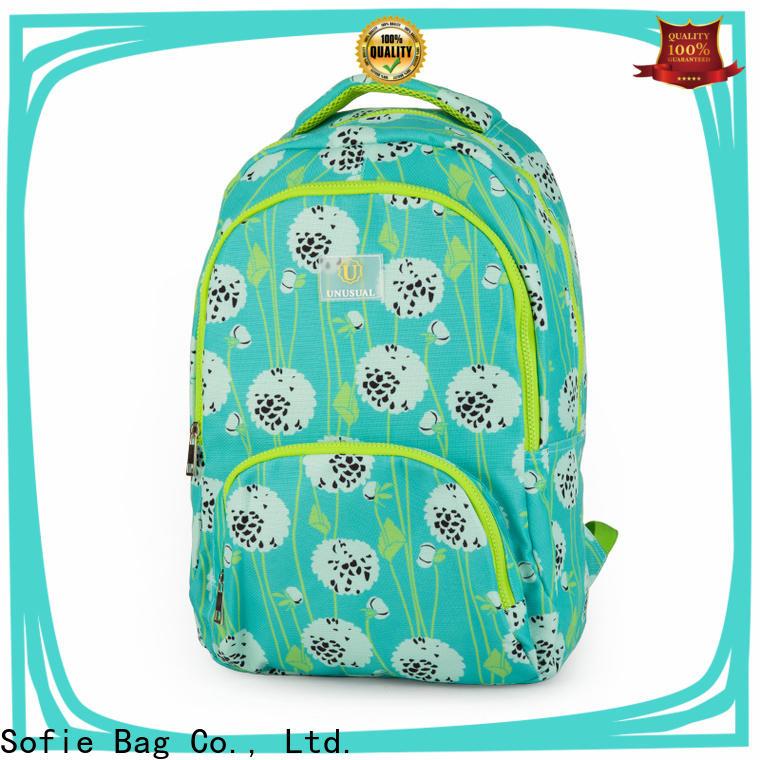 Sofie school bag series for packaging