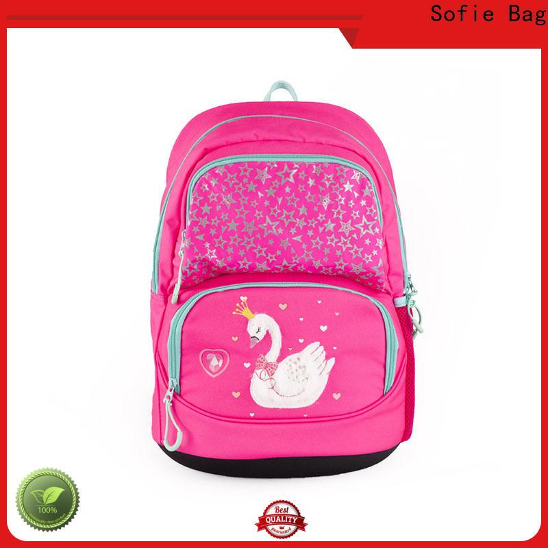 Sofie hard EVA bottom students backpack wholesale for students