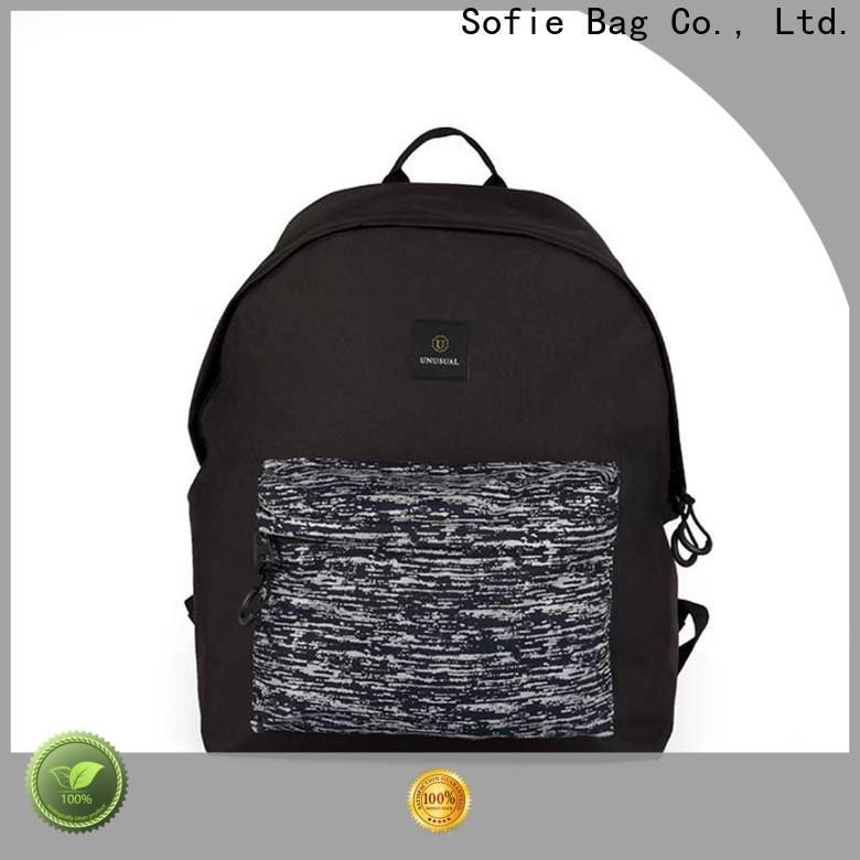 Sofie melange reflective backpack wholesale for business