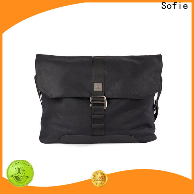 Sofie durable classic messenger bag factory direct supply for office