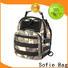 Sofie jacquard fabric crossbody sling bag customized for men