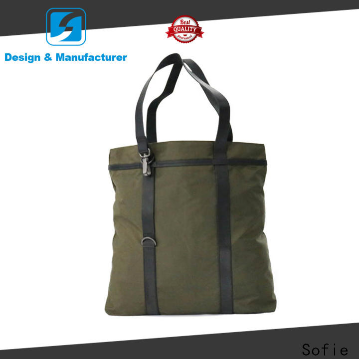 Sofie light weight foldable shopping bag manufacturer for women