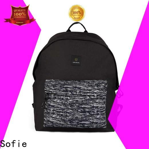 Sofie reflective backpack personalized for travel