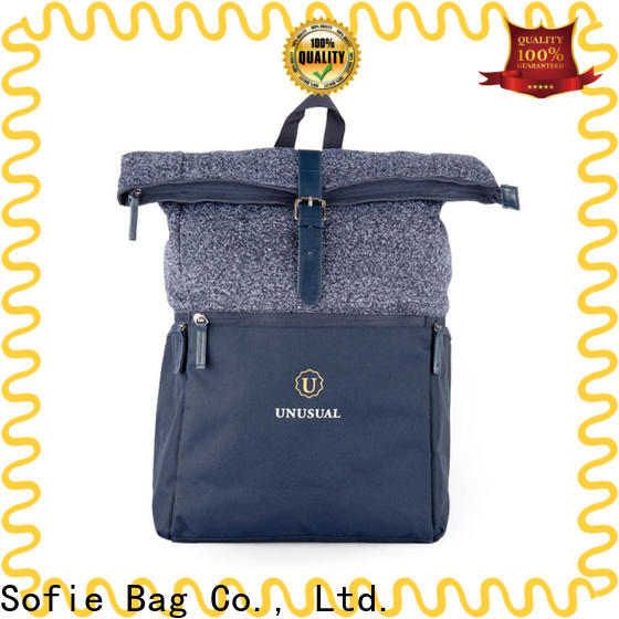 Sofie unique style casual backpack supplier for college