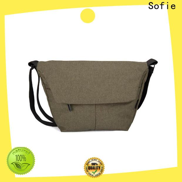 invisible front pockets men shoulder bag directly sale for school