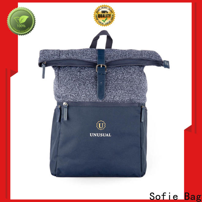 large capacity canvas backpack manufacturer for college