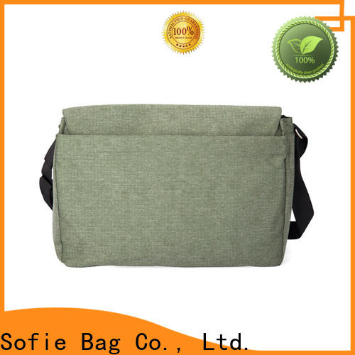 waterproof waxed briefcase laptop bag manufacturer for office