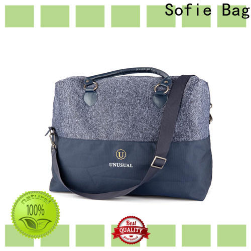 knitted fabric business travel bag directly sale for packaging