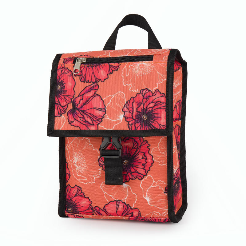 Protable small insulated children school lunch bag 201901012