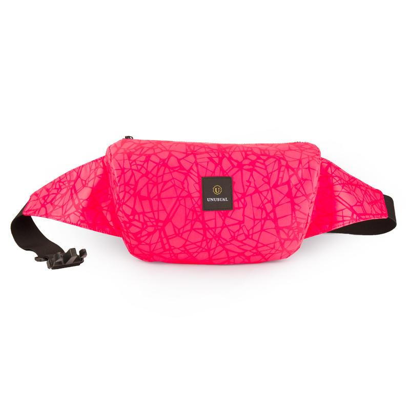 Fashion waterproof girls reflective women fanny waist bag S20191007