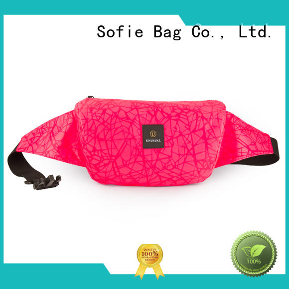 Sofie reflective waist pouch wholesale for jogging